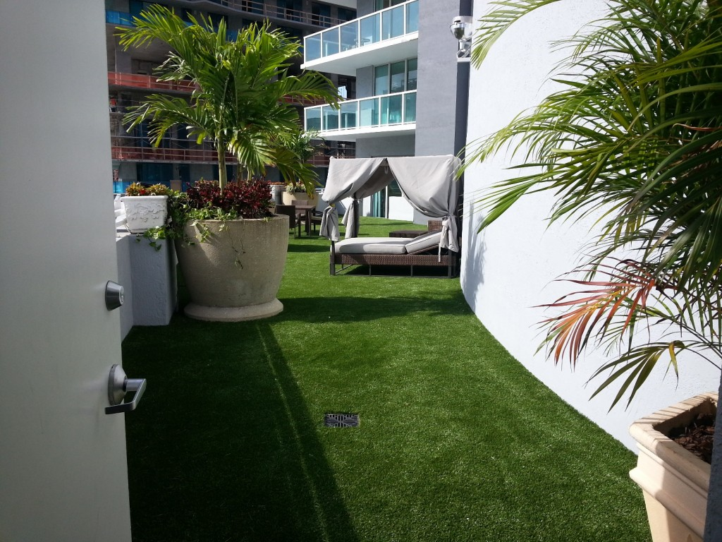 Alternascapes Artificial Turf Terrace Installation