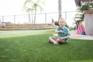 Keep kids safe on artificial grass