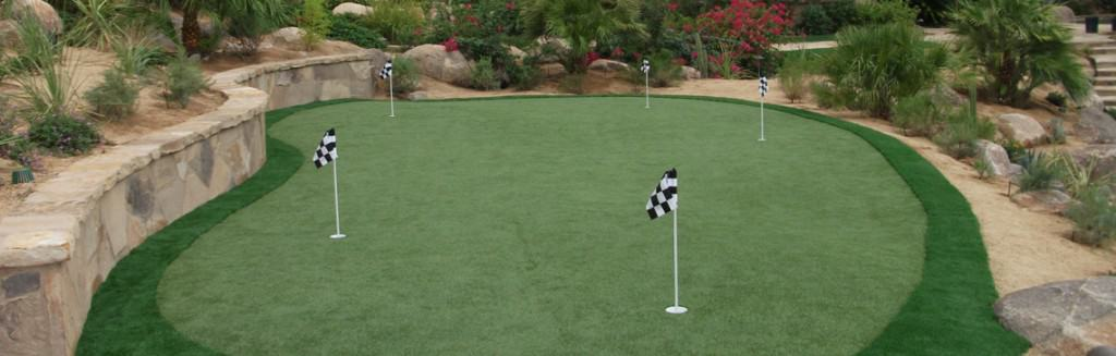 Building A Putting Green At Home Synthetic Greens