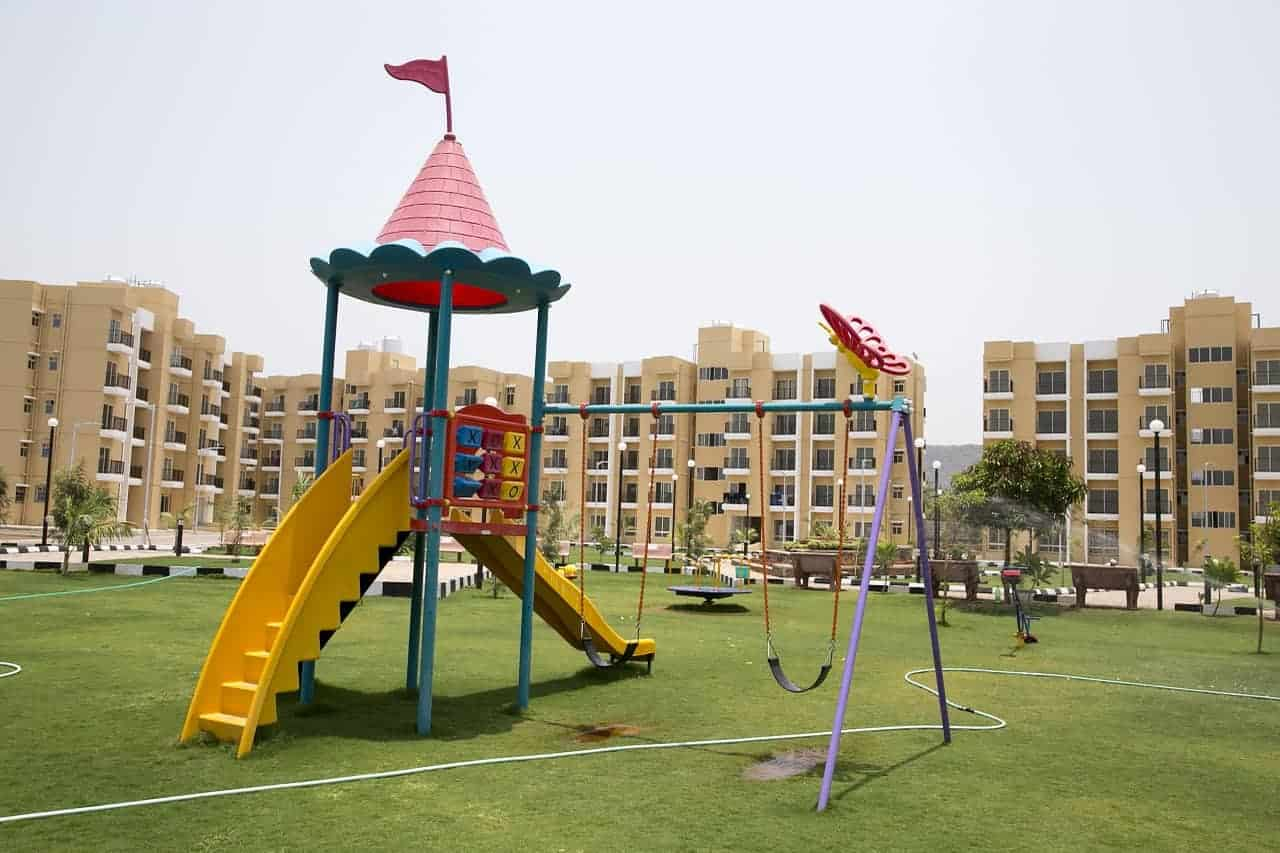 Artificial Grass on play areas